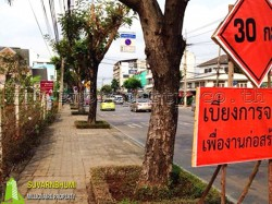 ที่ดินถมแล้ว  ถนนเฉลิมพระเกียรติ กรุงเทพฯ