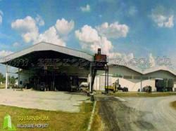 โรงงานแปรรูป 100 ไร่ กาญจนบุรี