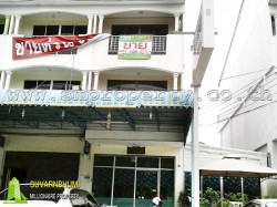 อาคารพาณิชย์ 3 ชั้น 22 ตารางวา สัตหีบ ชลบุรี